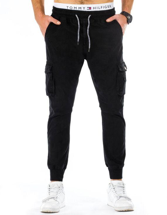 spodnie joggers czarne
