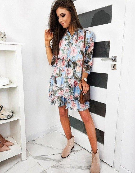 sukienka damska w kwiaty 2020