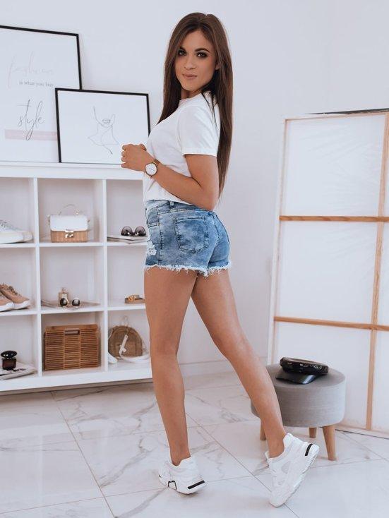 niebieskei spodenki damskie jeansowe Zaja